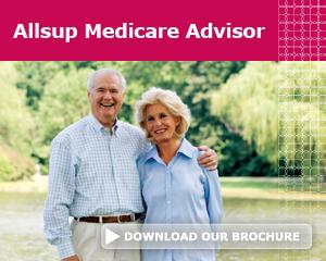 Allsup Medicare Advisor 65 plus brochure