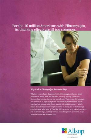 Fibromyalgia Day Poster